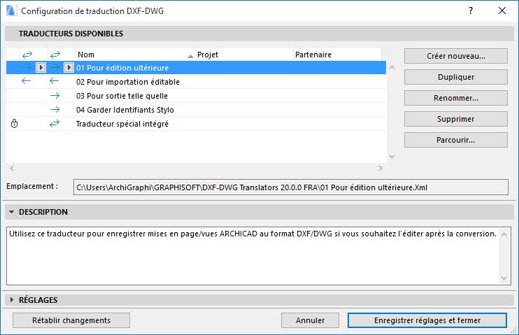 Enregistrer Des Fichiers Dwg Dxf